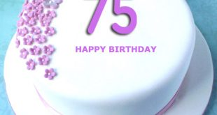 Celebrating The 75th Birthday Of Your Grandparents Here We Have Added Customized Cake Write Name Relationship Such As