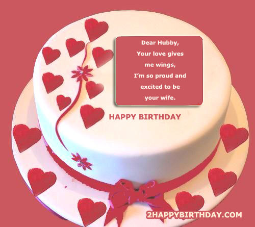 Sensational Happy Birthday Cake For Husband 2Happybirthday Funny Birthday Cards Online Fluifree Goldxyz