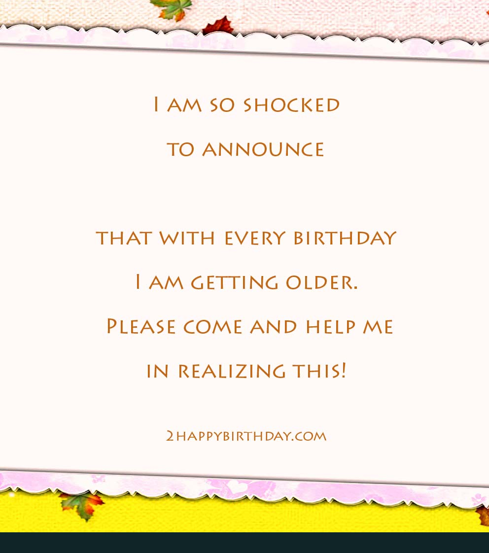 Birthday Invitation Messages & Wordings for Friends - 2HappyBirthday