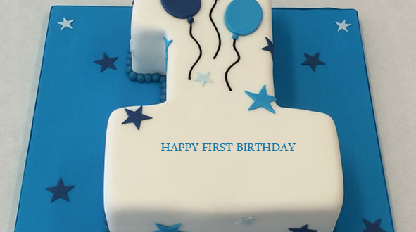 1st birthday cakes for baby boy